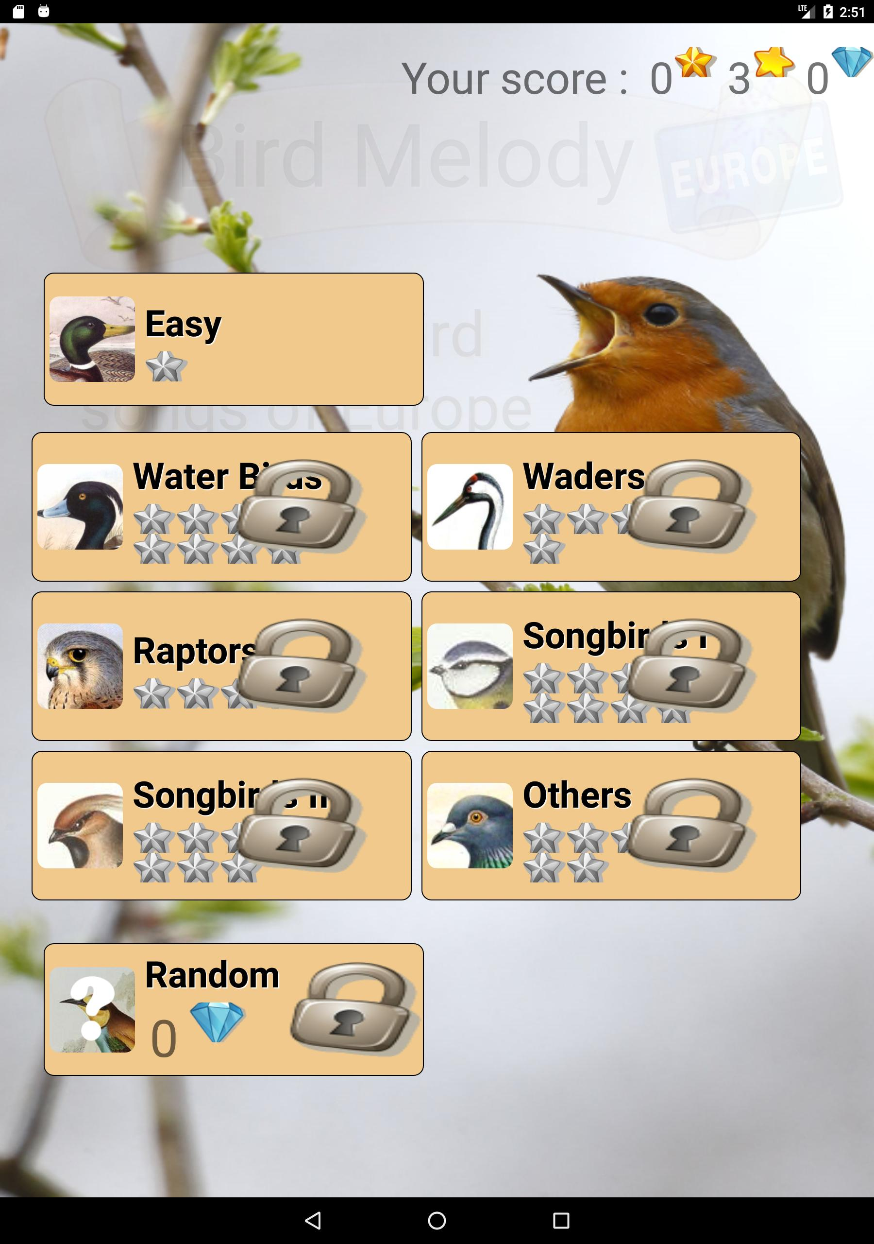 Bird Songs of Europe- Quiz & Guide for Android - APK Download