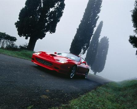 Themes Ferrari 575 apk screenshot