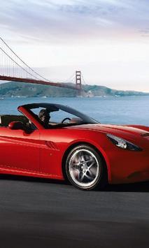 Themes Ferrari California poster