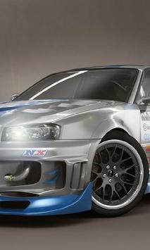 Themes Nissan Skyline poster