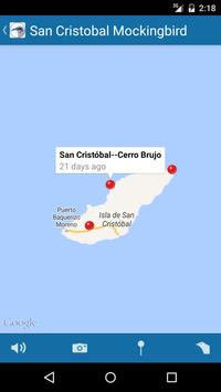 BirdsEye Galápagos capture d'écran 2