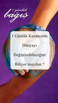 1 Günlük Bağış poster