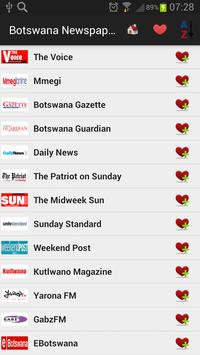 Botswana Newspapers And News poster