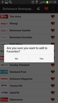 Botswana Newspapers And News apk screenshot