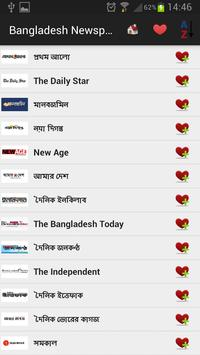 Bangladesh Newspapers And News poster