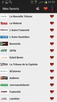Benin Newspapers and News apk screenshot