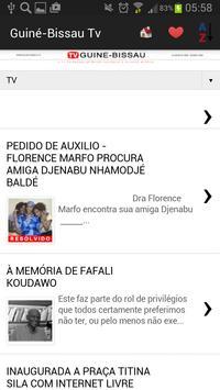 Guinea-Bissau Newspapers apk screenshot