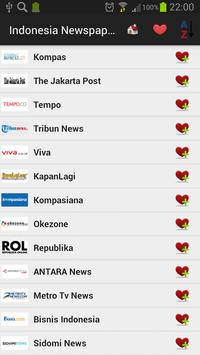 Indonesia Newspapers And News screenshot 16
