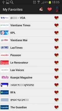 Laos Newspapers and News apk screenshot