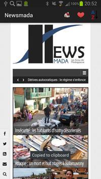 Madagascar Newspapers and News apk screenshot