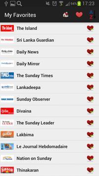 Sri Lanka Newspapers And News poster