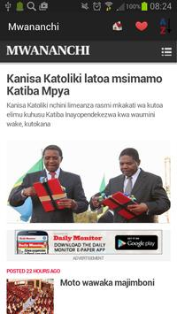Tanzania Newspapers And News screenshot 19