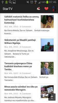 Tanzania Newspapers And News screenshot 22
