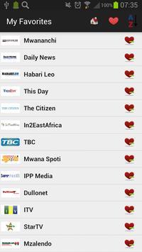 Tanzania Newspapers And News screenshot 2
