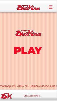 Radio BIRIKINA poster