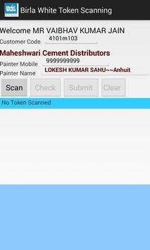 Birla White Token Scanning screenshot 1