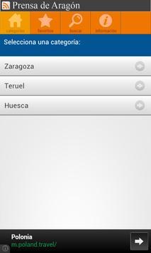 Prensa de Aragón apk screenshot