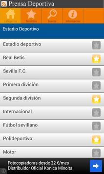 Prensa Deportiva apk screenshot