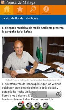 Prensa de Málaga apk screenshot