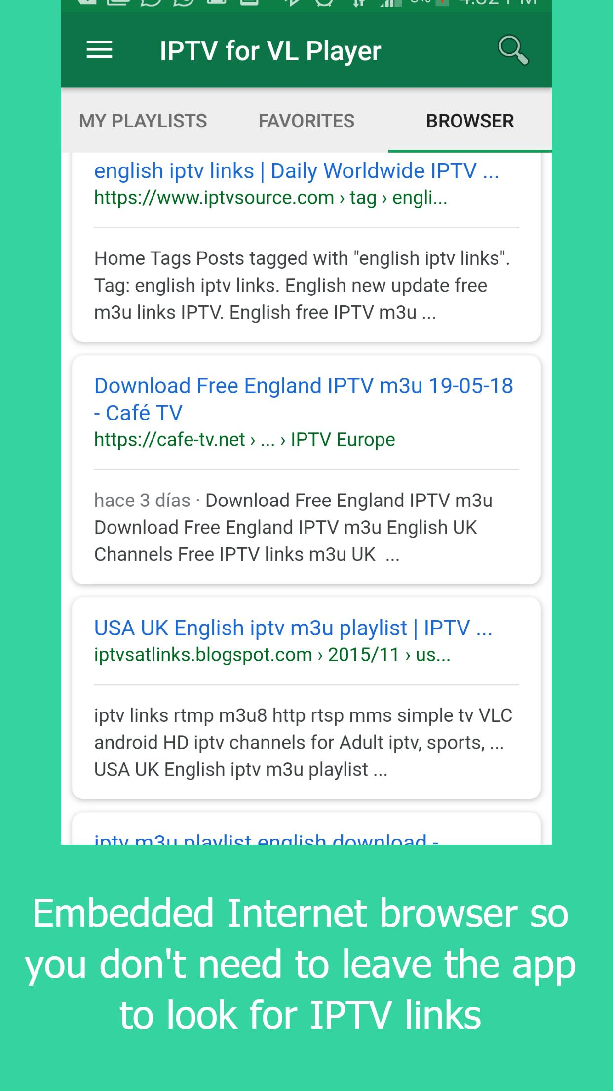 IPTV Manager for VL Player for Android - APK Download