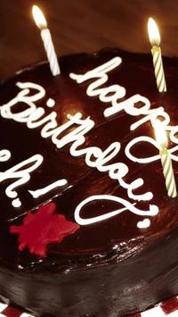birthday cake live wallpaper poster