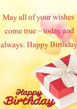 Happy Birthday Card &Wish quotes-Photo Frames 2017 screenshot 18