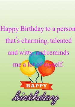 Happy Birthday Card &Wish quotes-Photo Frames 2017 screenshot 20