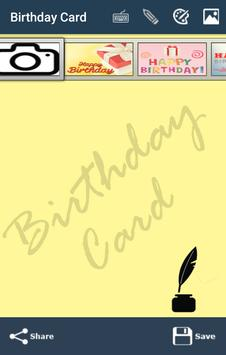 Happy Birthday Card &Wish quotes-Photo Frames 2017 screenshot 8