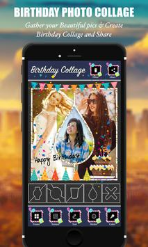 Happy Birthday Photo Collage screenshot 3