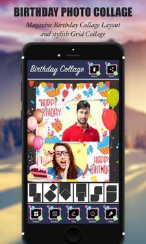 Happy Birthday Photo Collage screenshot 2