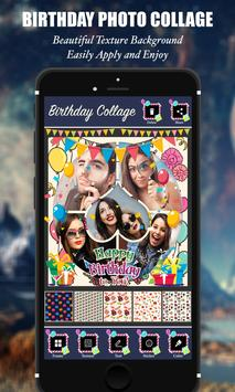 Happy Birthday Photo Collage screenshot 4