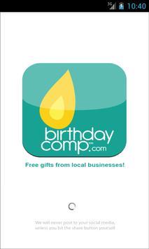 BirthdayComp poster