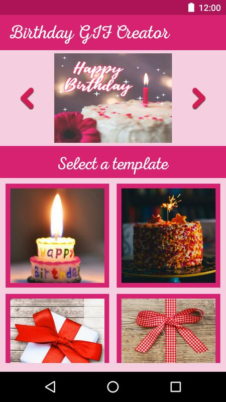 Birthday Gif Maker Funny Gif Video With Messages For Android Apk