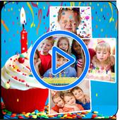 Birthday Video Maker icon
