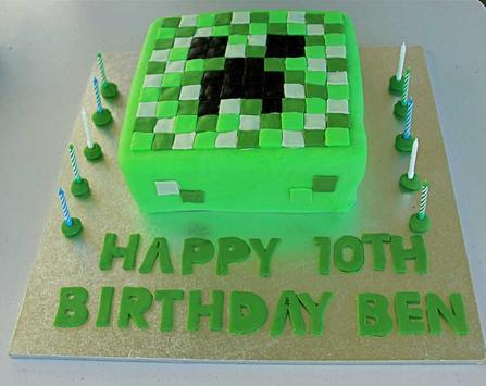 Birthday Cake Minecraft Ideas screenshot 4