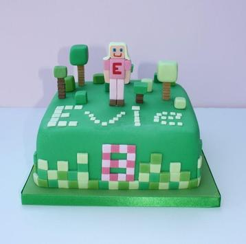 Birthday Cake Minecraft Ideas screenshot 5