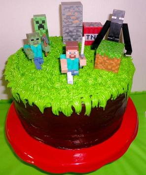 Birthday Cake Minecraft Ideas poster