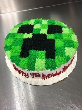 Birthday Cake Minecraft Ideas screenshot 3