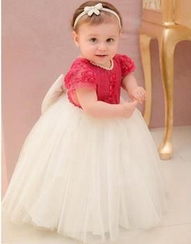Baby Girl Birthday Dresses poster
