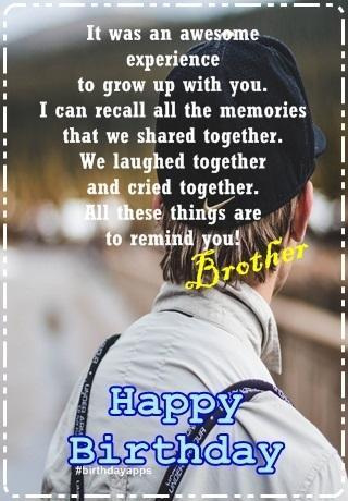 Happy Birthday Brother for Android - APK Download