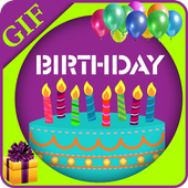 Happy Birthday Animated gif icon