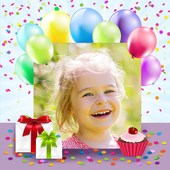 Birthday Photo Cards Maker icon