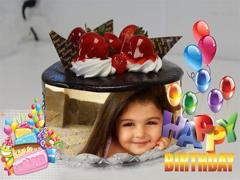 Birthday Cake Photo Frames Maker screenshot 2