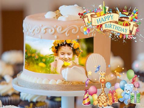 Birthday Cake Photo Frames Maker screenshot 4