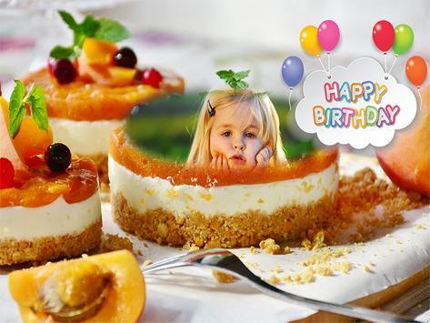 Birthday Cake Photo Frames Maker screenshot 7