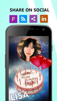 Happy Birthday Song With Name poster