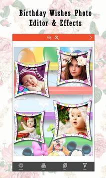 Birthday Wishes  Photo Editor & Effects screenshot 14