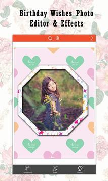Birthday Wishes  Photo Editor & Effects screenshot 2