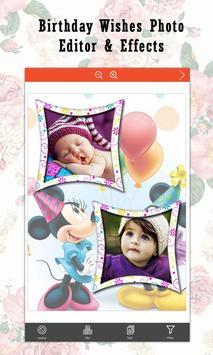 Birthday Wishes  Photo Editor & Effects screenshot 4