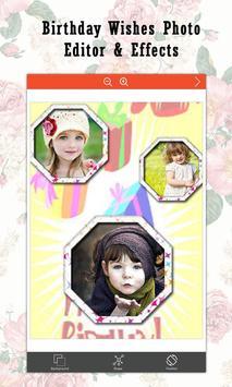 Birthday Wishes  Photo Editor & Effects screenshot 8